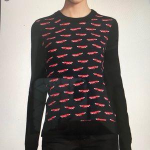 Kate Spade New York Fox Print Sweater